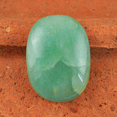 Superb Rare 52.70 Cts Natural Rich Green Jade Untreated Oval Shaped Loose Gem