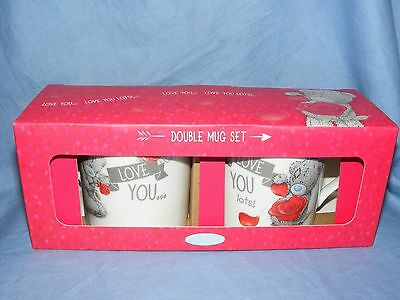 64beab721e4 ME TO YOU Tatty Teddy Valentines Day Double Mug Set G01M0365 Love Gift  Present