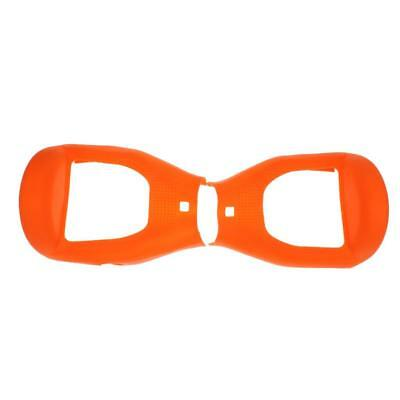 Silicone Coque de Protection Hoverboard pour Auto Balance Scooter Orange
