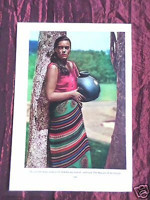 Kerima -The Outcast Of The Island  Film Star-1 Page Picture- Clipping / Cutting
