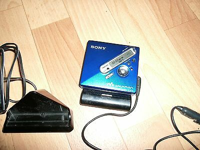 SONY MZ-N710 Net-MD MiniDisc Recorder Walkman Player High End Japan