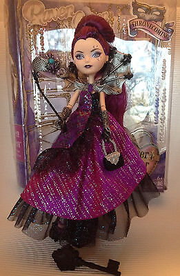 Ever After High Puppe /  Thronfest / Thronecoming/ Raven Queen / Versand in OVP