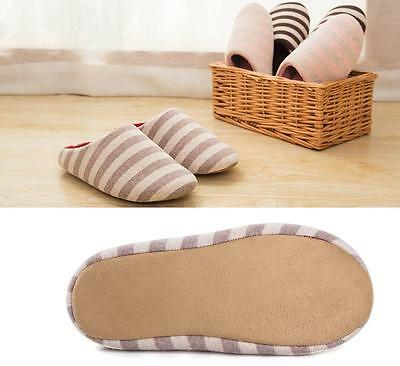 Womens Mens Home Anti-slip Shoes Warm Cotton Sandal Indoor Slippers Shoes