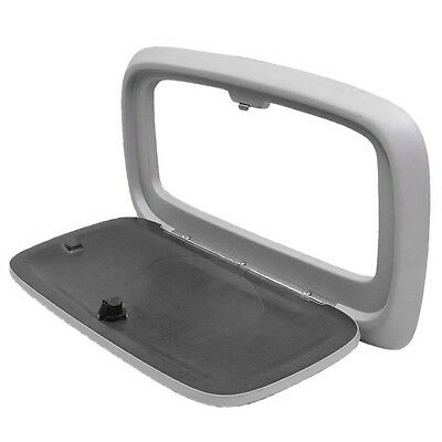 Boat Glove Box Door | Chaparral 02.00055 Platinum 23 1/8 x 12 1/4 Inch