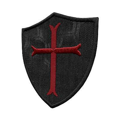 crusader templar cross kryptek typhon navy bordado parche sew iron on patch