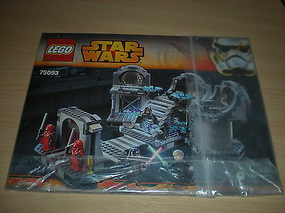 Lego Instruction Manual Only - (75093) - Star Wars - Death Star Final Duel *New*