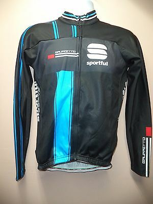Authentic Nwt Sportful Gruppetto Therm. Jers.-Men's M-Black/blue-Great For Fall