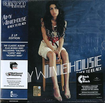 Winehouse Amy Back To Black Deluxe Edition Doppio Vinile Lp 180 Grammi Nuovo