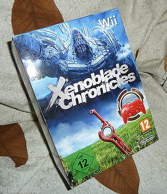 Xenoblade Chronicles Limited Edition Controller Pro Pack Wii Pal Coleccionista
