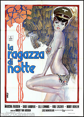 La Ragazza Di Notte Manifesto Cinema Film Erotico 1972 Harlis Movie Poster 2F
