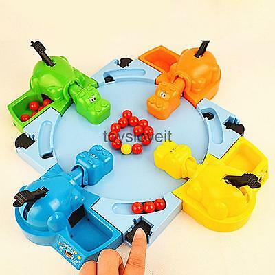 Novelty Hungry Hippos Game Kids Children Interactive Party Board Game Toy