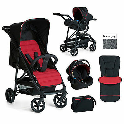New Hauck Caviar / Tango Shop N Drive Travel System Pushchair Stroller Car Seat