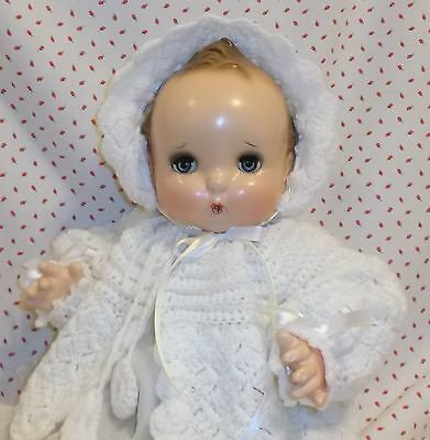 """23"""" Horsman SISTER doll Composition and Clothe Rare BABY DOLL tagged dress"""