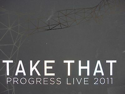 Take That Progress Live 2011 Tour Programme and Picture Book