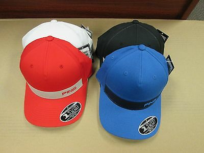 2016 PING KP MEN'S HATS - Lot of 4 - NWT