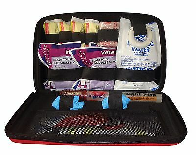 StatGear Auto First Aid Kit - Emergency Survival Camping Travel Bag Outdoor Car