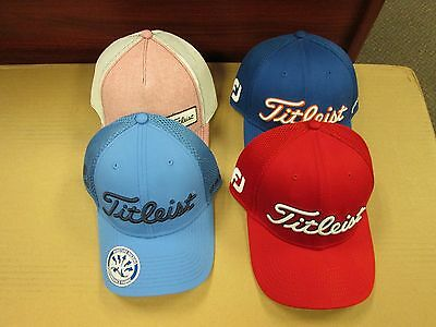 TITLEIST MEN'S HATS - Lot of 4 - NWT - size s/m