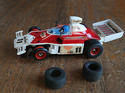 Aurora McLaren F-1, G-Plus chassis, HO car AFX Tomy Faller Tyco micro