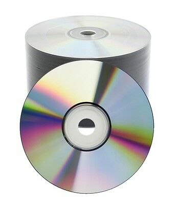 100 pcs 16X Shiny Silver Top DVD-R DVDR Blank Disc Media 4.7GB