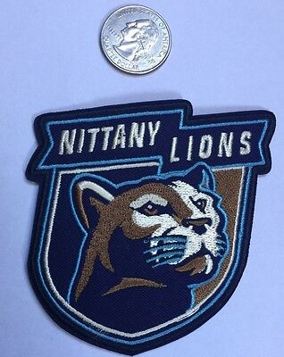 """Penn State University  Nittany Lions Vintage Embroidered Iron On Patch  3""""x 3"""""""