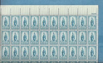US Sheet MNH Scott # 989 Statue of Freedom issue SUPERB & BELOW FACE VALUE