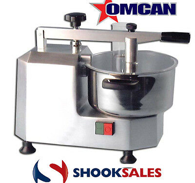 Omcan 10830 European Stainless Steel Restaurant 3QT Small Bowl FOOD Processor