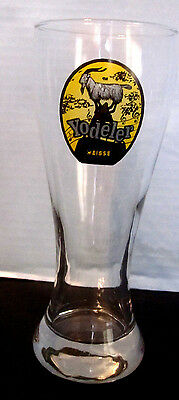 Yodeler Weisse German Beer Glass 8.5 inch tall