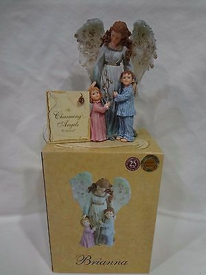 "The Charming Angels Boyds ""brianna Guardian Of Children"" Mib"