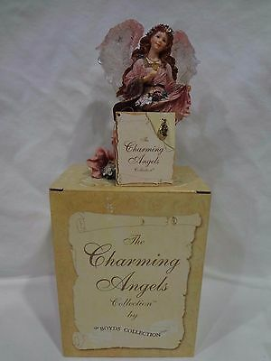 "The Charming Angels Boyds ""olivia...guardian Of Flora"" Mib"