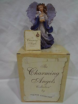 "THE CHARMING ANGELS BOYDS ""Serena Guardian of Peace"" MIB"