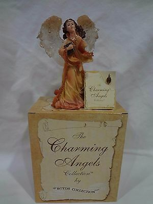 "THE CHARMING ANGELS COLLECTION BY BOYDS ""Christiana Guardian of Secrets"" MINT"