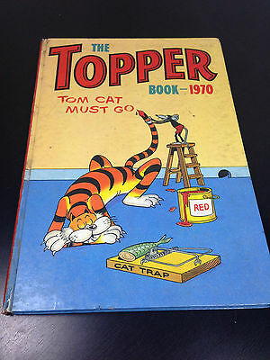 Vintage The topper book Annual 1970