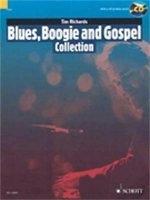 Hal Leonard Blues, Boogie and Gospel Collection-Book & Cd