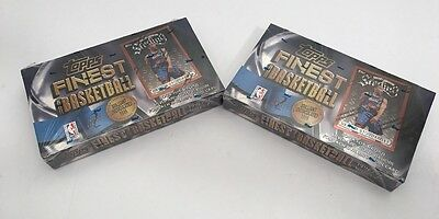 1996-97 Topps Finest Basketball Series 2 Lot Of 2 Sealed Boxes Kobe Bryant Rc