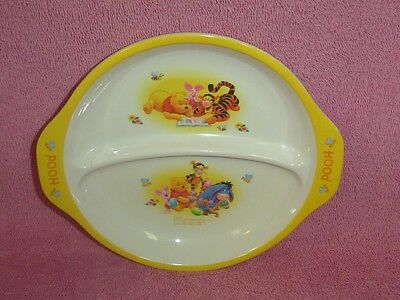 Unbreakable Child's Character Divided Dish Disney Winnie the Pooh