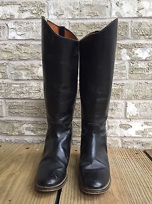 English Riding Boots, Kemptown Boots, Black Leather Riding Boots