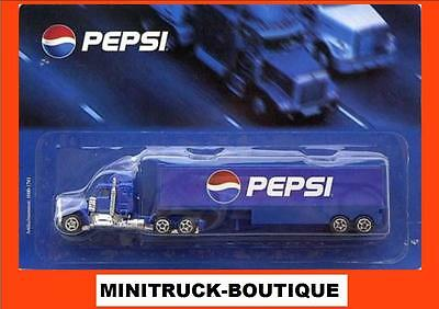 PEPSI Cola / (Germany) truck, US Kenworth W900 with trailer, Scale 1:90