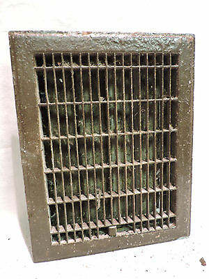 Vintage 1920S Cast Iron Heating Grate Cover Rectangular 14 X 11 A