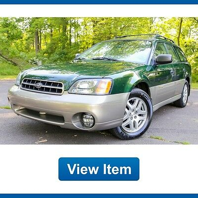 2000 Subaru Outback  2000 Subaru Outback Wagon AWD 1 OWNER 2.5L Super Low 65K mi CARFAX Garaged!