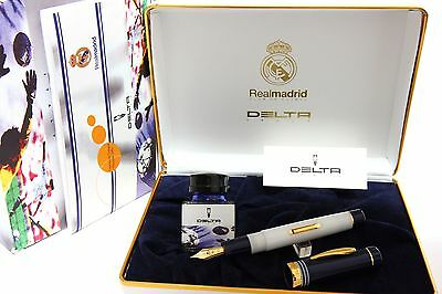 Delta Real Madrid Champions League Glasgow 2002 Limited Edition Fountain Pen NEW