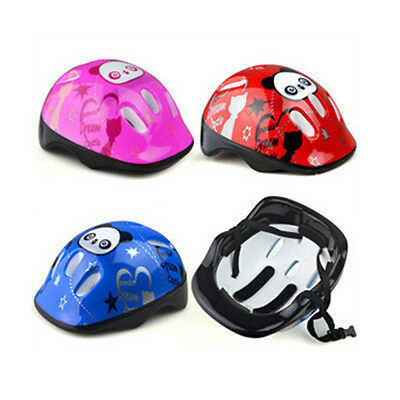 Kids  Bicycle Head Helmets Skating Skate Board Girls Boys Protective Gear QW