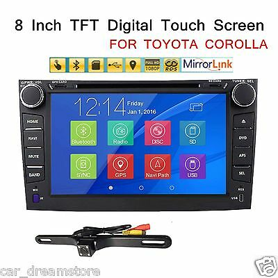 For Toyota Corolla 2007 2008 2009 2010 2011 Car DVD Player Stereo Radio GPS+CAM