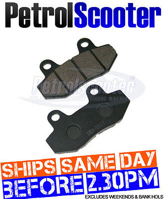 FRONT BRAKE PADS Baotian 125cc T2 QT7 50cc Scooter Fits Lots Chinese Scooters