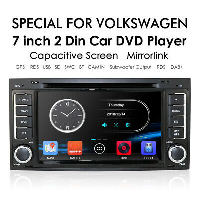 -GPS For Volkswagen Touareg 7L 2003-10 Bluetooth Car DVD Navigation Radio Stereo