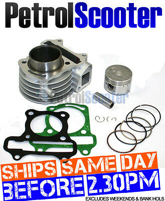 139QMB Chinese Scooter Engine Upgrade Big Bore Kit Changes 50cc To 72cc