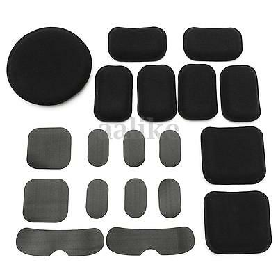 19x EVA Foam Protector Cushion Pad For Tactical Airsoft Military Helmet Outdoor