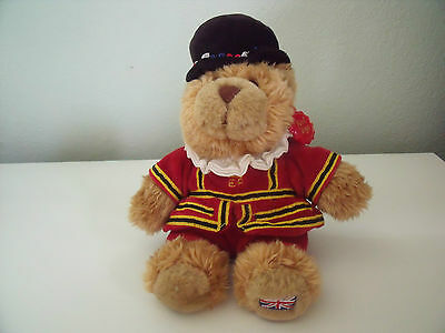 Keel Toys London Beefeater Soft Toy Approx 9 Inches