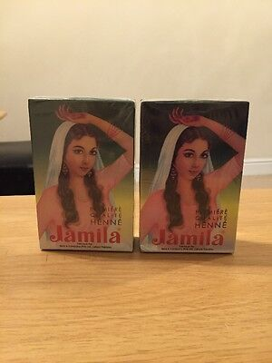 Jamila Henna Powder 2x100g/ (2Boxes + 5 Empty Cones)From The Fresh 2016 New Crop
