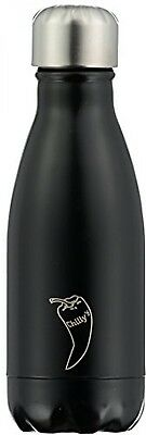 Chilly's Bottles Double Walled Vacuum Bottle - Black 500ml