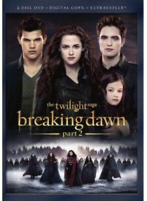 The Twilight Saga: Breaking Dawn, Part 2 [New DVD] 2 Pack